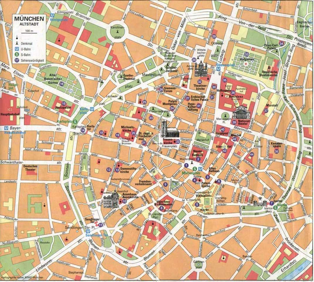 Путеводитель по Мюнхену - часть первая: http://citymunich.narod.ru/guide_1.htm